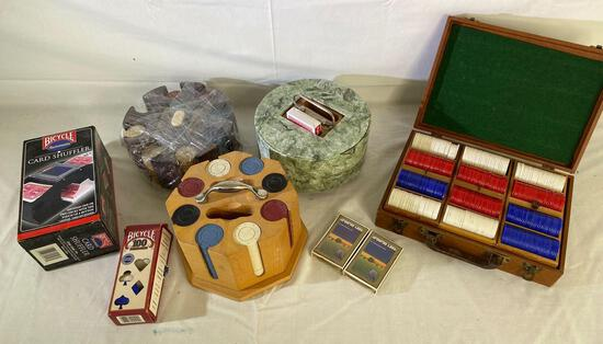 Michael Graves and other poker chip sets