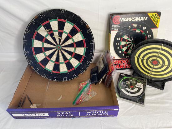 Dart boards & darts