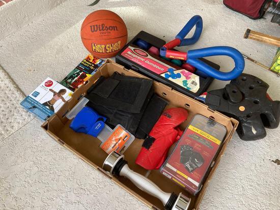 Athletic Works dumbbell set & strength equipment