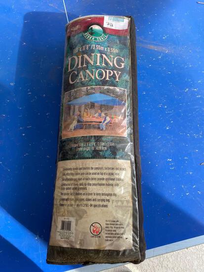 "Ozark Trail 11'8"" x 11'8"" dining canopy"