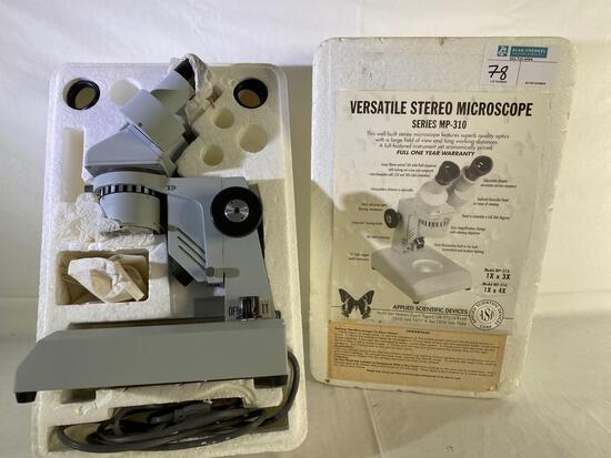 Applied Scientific Devices MP-310 stereo microscope