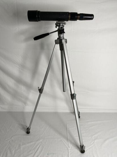 Bushnell Sportview 15-45x50 spotting scope and tripod