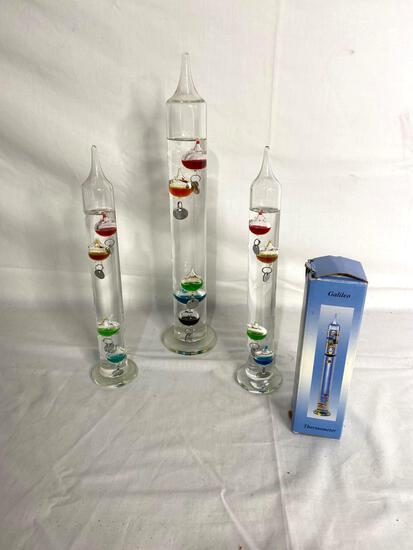 (5) Galileo color ball thermometers