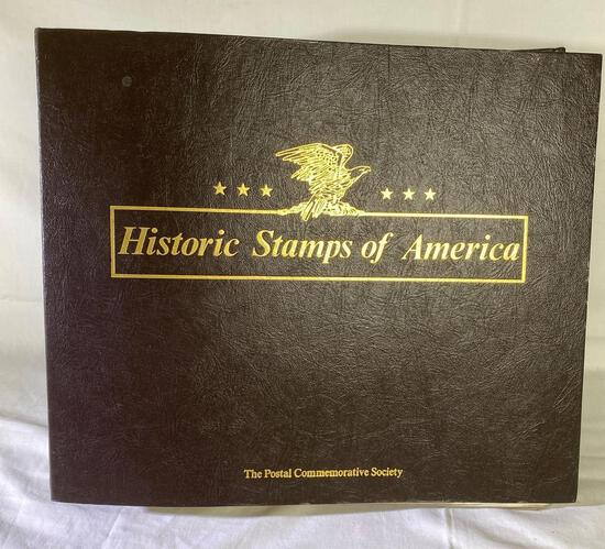 Historic Stamps of America by The Postal Commemorative Society covers