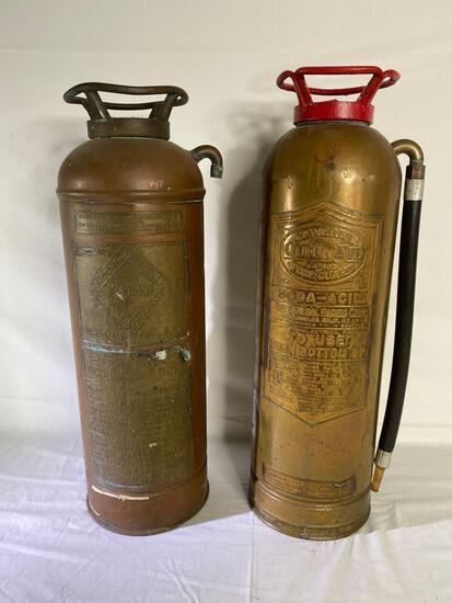 General Quick Aid SA-303 & Moore Handley copper fire extinguishers