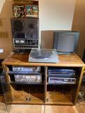 (2) Bose 601 & 301 speakers, Pioneer turntable, YAMAHA tuner, amplifier & subwoofer & more
