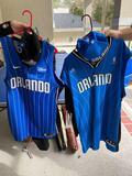 Orlando Magic Dancing Dads uniforms XL & 2XL, caps