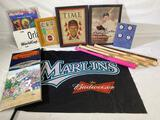 Sports collectibles - baseball and soccer