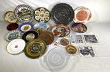 German oyster plate, decorative plates and tiles