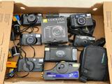 Automatic 35 mm cameras: Canon, Pentax, Minolta, Konica and others