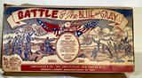 Marx Toys Battle of the Blue and Gray playset