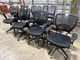 (7) Rolling conference chairs