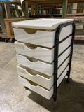 Rolling 5-drawer utility cart 16