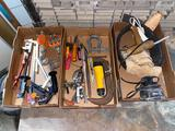 (3) Boxes of tools