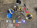 DeWalt drill and tools