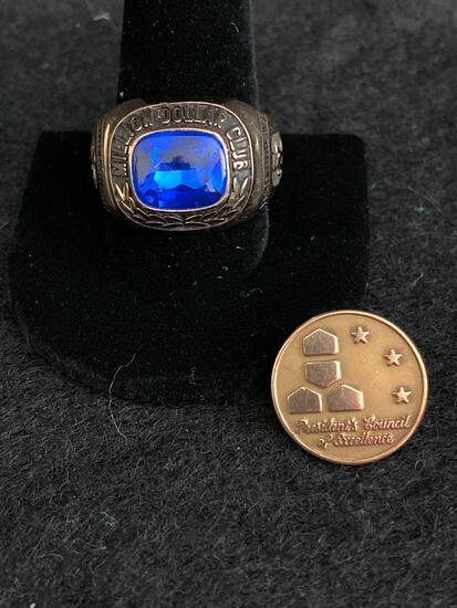 10K Award ring and pin 28g