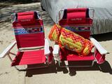 Nautica beach chairs & beach mat