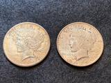 1922 & 1922D Peace Silver Dollar