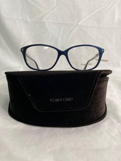 Tom Ford TF5316 purple blue 54mm eye.14mm bridge.140mm temple women's eyeglass frames