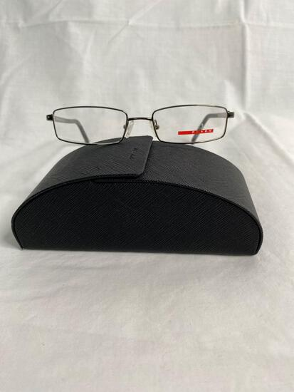 Prada VPS52A gun metal 52.17.140 men's eyeglass frames
