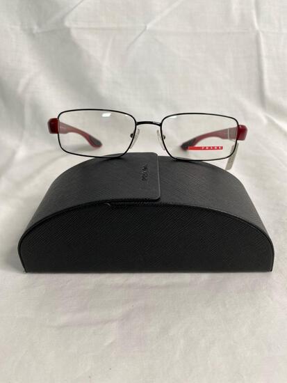 Prada VPS52E black burgundy 54.17.145 unisex eyeglass frames