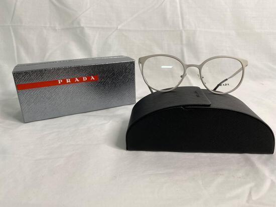 Prada VPR53T white 50.19.135 women's eyeglass frames