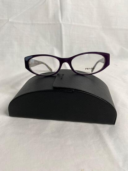 Prada VPR03P purple 52.17.135 women's eyeglass frames