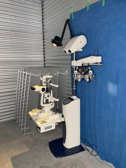 Reichert Endurance Opthalmic Stand including Phoroptor, Slit Lamp, Auto Projector & Tonometer
