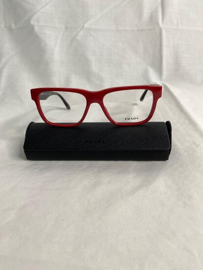 Prada VPR16R red 53.16.140 women's eyeglass frames