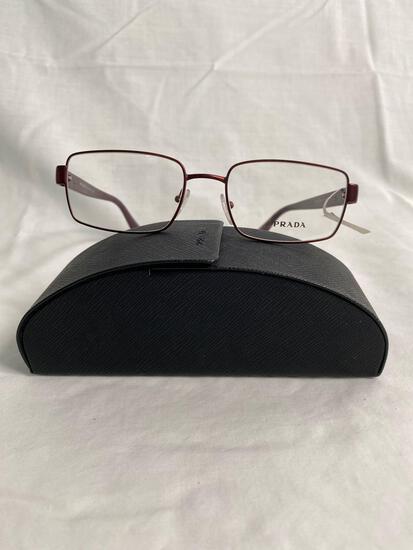 Prada VPR60Q red 54.18.140 men's eyeglass frames