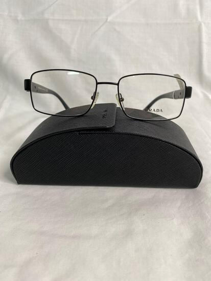 Prada VPR53R black 54.17.140 men's eyeglass frames