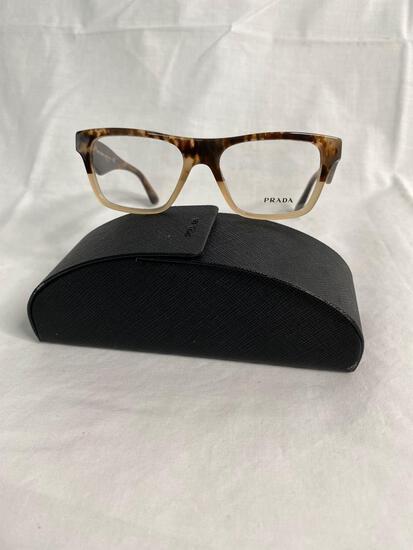 Prada VPR20Q tan tortoise 50.16.140 women's eyeglass frames