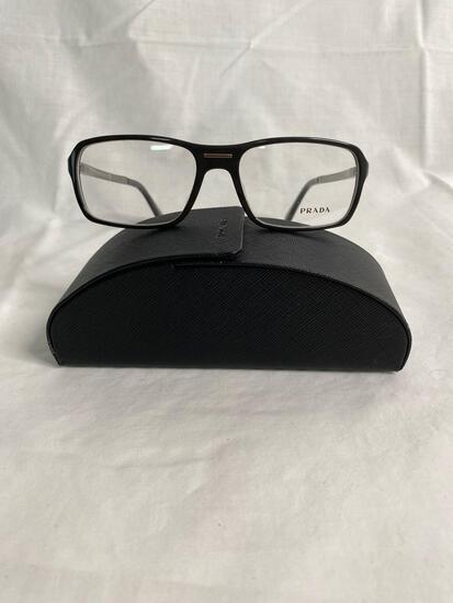 Prada VPR15N black 56.17.140 unisex eyeglass frames