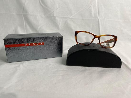 Prada VPR24R tortoise 52.16.140 unisex eyeglass frames
