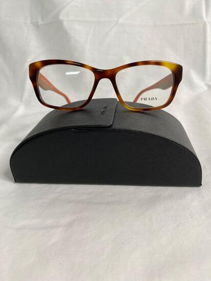Prada VPR24R tortoise 52.16.140 women's eyeglass frames