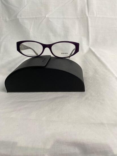 Prada VPR03P purple 53.17.140 women's eyeglass frames