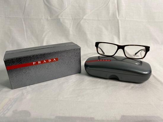 Prada VPR22R tortoise 52.16.140 men's eyeglass frames