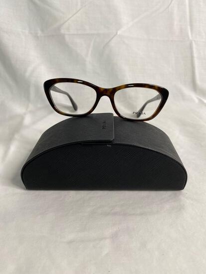Prada VPR03Q tortoise 54.18.140 women's eyeglass frames