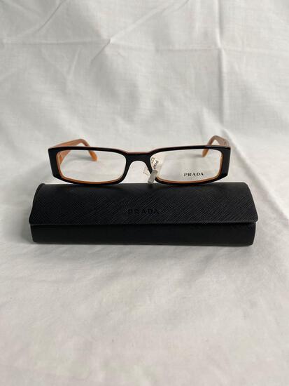 Prada VPR10F black 53.16.135 women's eyeglass frames