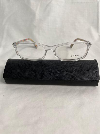 Prada VPS02M clear 53.16.135 women's eyeglass frames