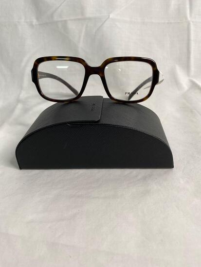 Prada VPR15R tortoise 53.19.140 women's eyeglass frames