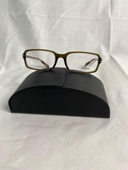 Prada VPR04N tortoise 55.17.140 women's eyeglass frames