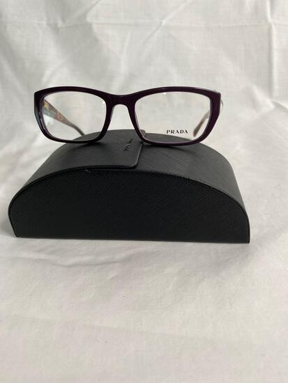 Prada VPR180 purple 52.18.135 women's eyeglass frames