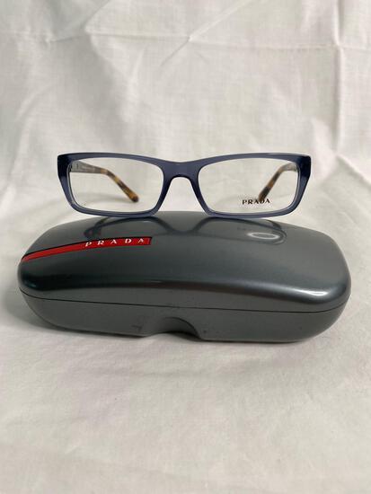 Prada VPR05N blue 53.16.135 women's eyeglass frames