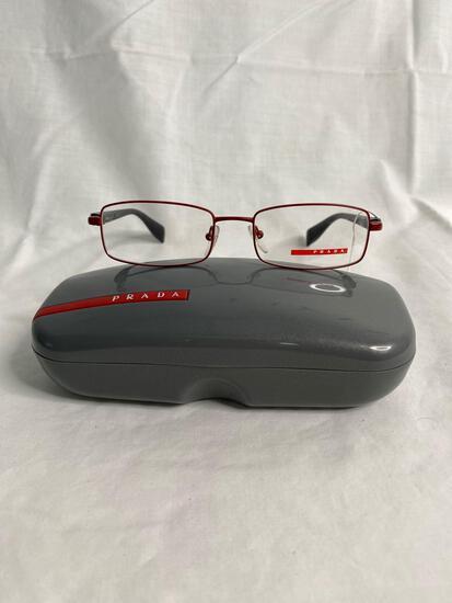Prada VPS50B red 51.17.140 unisex eyeglass frames