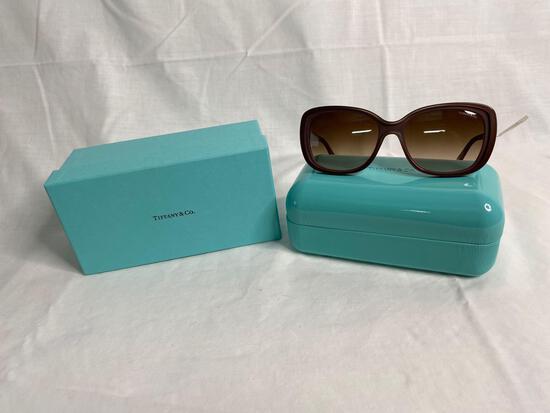 Tiffany TF4091B brown women's sunglasses 55.17.140