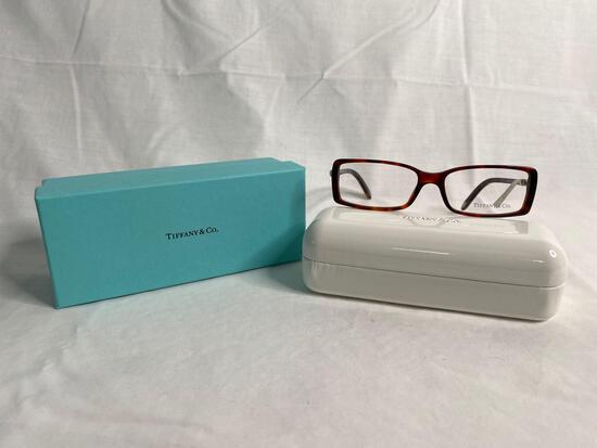 Tiffany TF2060G tortoise 53.15.135 women's eyeglass frames
