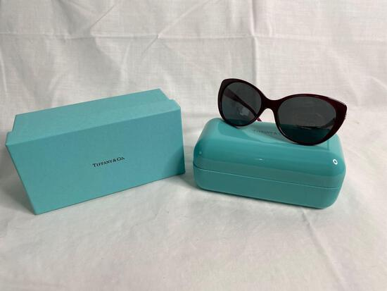 Tiffany TF4099H purple women's sunglasses 57.17.135