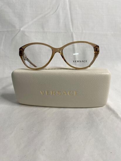 Versace VE3161 tan 51.15.135 women's eyeglass frames