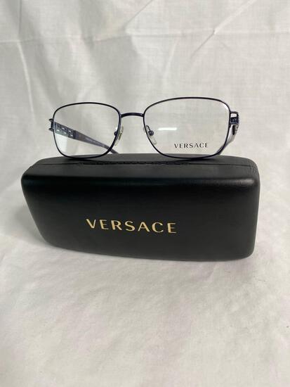 Versace VE1229B purple 53.16.135 unisex eyeglass frames